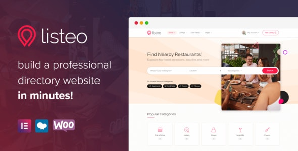Nulled ThemeForest Listeo v1.6.05 - Directory & Listings With Booking WordPress