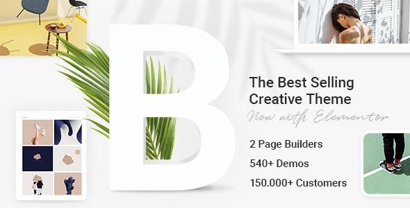 ThemeForest Nulled Bridge v25.6 - Creative Multi-Purpose WordPress Theme