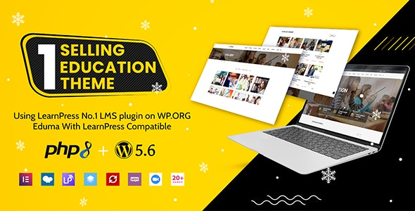 ThemeForest Nulled Eduma v4.3.6 - Education WordPress Theme