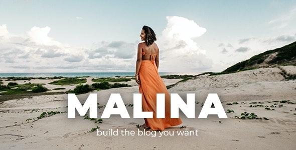 ThemeForest Nulled Malina v2.2.0 - Personal WordPress Blog Theme