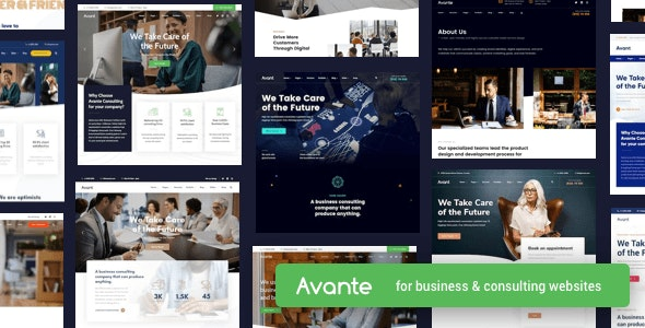 Nulled ThemeForest Avante v2.3.1 - Business Consulting WordPress