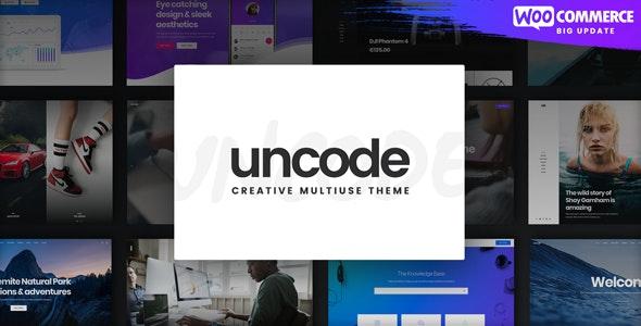 ThemeForest Nulled Uncode v2.3.6 - Creative Multiuse WordPress Theme