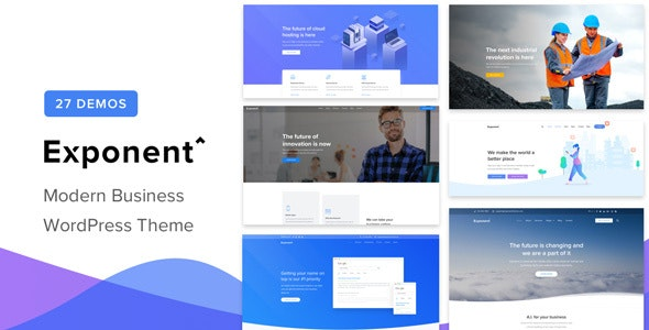 Nulled ThemeForest Exponent v1.2.9.0 - Modern Multi-Purpose Business Theme