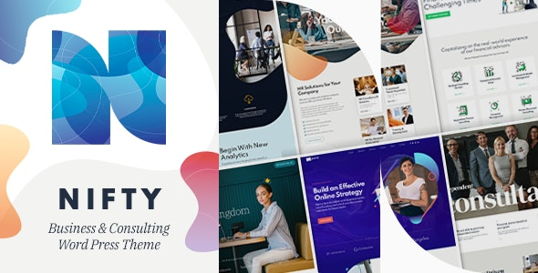 ThemeForest Nulled Nifty v1.0.6 - Business Consulting WordPress Theme