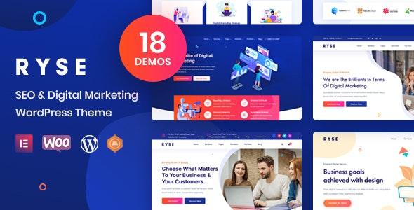 ThemeForest Nulled Ryse v3.0.1 - SEO & Digital Marketing Theme