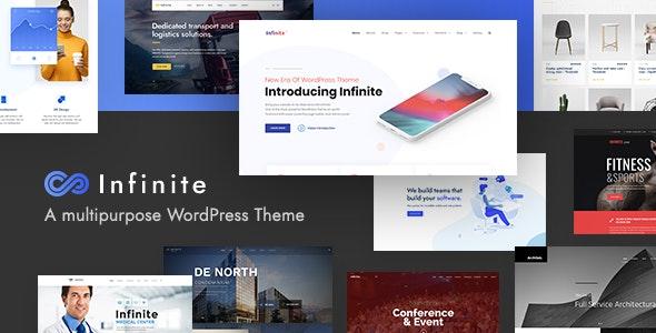 ThemeForest Nulled Infinite v3.4.0 - Multipurpose WordPress Theme