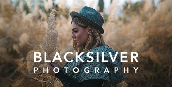 ThemeForest Nulled Blacksilver v8.5.3 - Photography Theme for WordPress