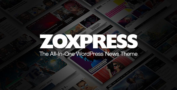 ThemeForest Nulled ZoxPress v2.03.0 - All-In-One WordPress News Theme