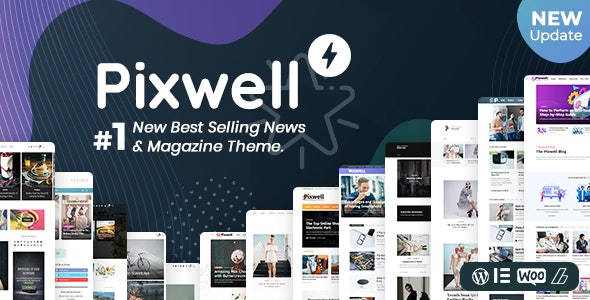 ThemeForest Nulled Pixwell v7.0 - WordPress Modern Magazine