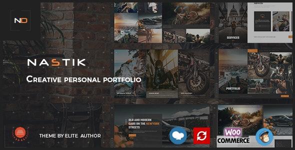 Nulled ThemeForest Nastik v3.6 - Creative Portfolio WordPress Theme