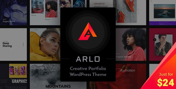 ThemeForest Nulled Arlo v3.6 - Portfolio WordPress Theme