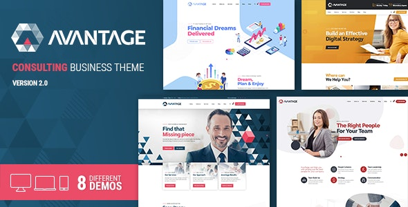 ThemeForest Nulled Avantage v2.1.9 - Business Consulting WordPress Theme