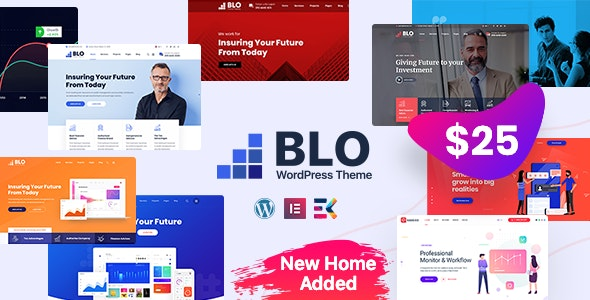 ThemeForest Nulled BLO v3.0 - Corporate Business WordPress Theme