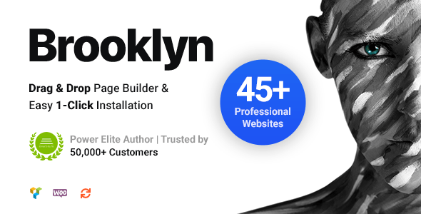ThemeForest Nulled Brooklyn v4.9.6.6 - Creative Multi-Purpose Responsive WordPress Theme