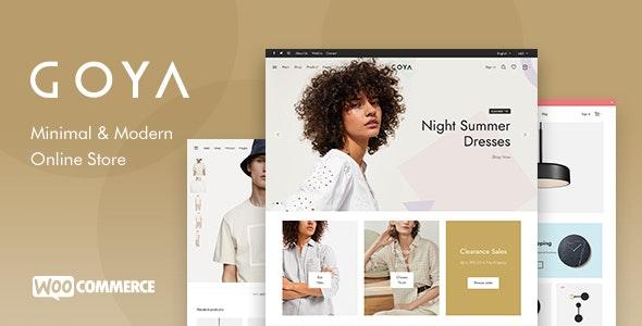 ThemeForest Nulled Goya v1.0.5.2 - Modern WooCommerce WordPress Theme