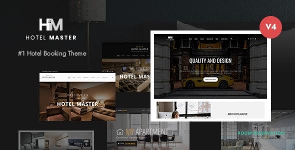 ThemeForest Nulled Hotel Master v4.1.2 - Hotel Booking WordPress Theme
