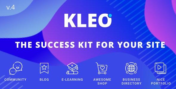 ThemeForest Nulled KLEO v5.0.1 - Next level WordPress Theme