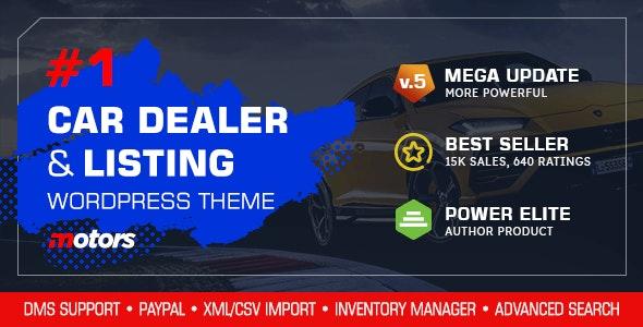 ThemeForest Nulled Motors v5.0 - Automotive, Cars, Vehicle, Boat Dealership WordPress Theme