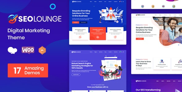 ThemeForest Nulled SEOLounge v3.0.2 - SEO Agency WordPress Theme