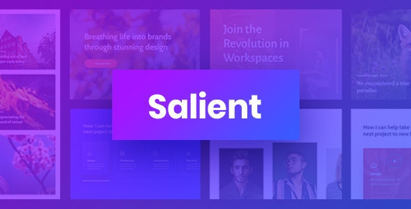 ThemeForest Nulled Salient v13.0.5 - Responsive Multi-Purpose Theme