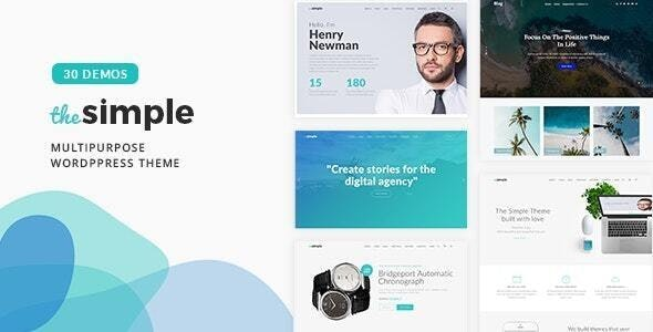 ThemeForest Nulled The Simple v2.6.1 - Business WordPress Theme