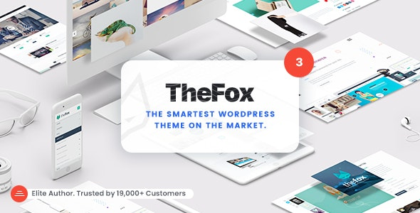 ThemeForest Nulled TheFox v3.9.9.9.19 - Responsive Multi-Purpose WordPress Theme